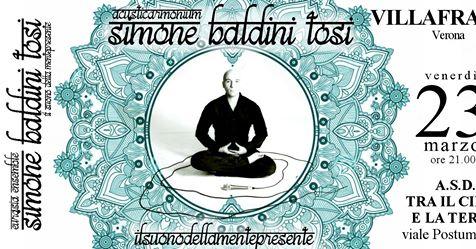 Simone Baldini Tosi in Concerto - La voce del Dharma