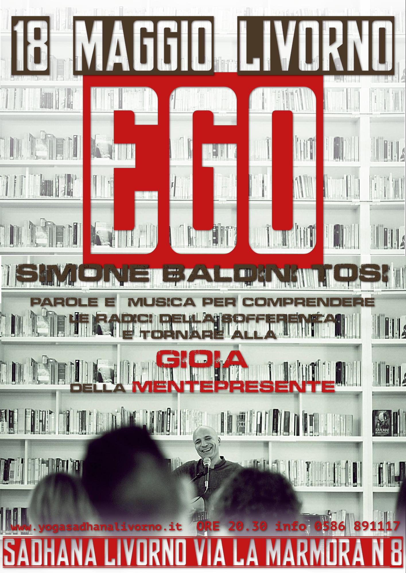 EGO - concerto/dialogo di Simone Baldini Tosi