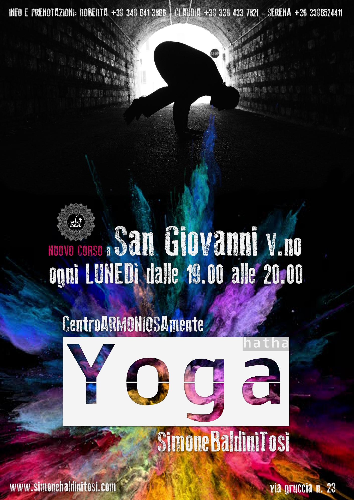 Nuovo corso Yoga a San Giovanni V.no (AR)